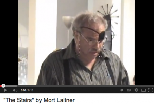 "Mort Laitner reads his powerful story ""The Stairs"""